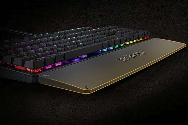 ASUS TUF K3 RGB Mechanical Gaming Keyboard with Detachable Magnetic Wrist Rest