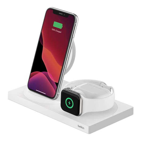 Belkin BoostCharge 3-In-1 Wireless Charging Dock Special Edition