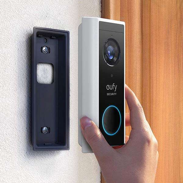 Eufy Security Battery-Powered Wireless Video Doorbell Supports Amazon Alexa