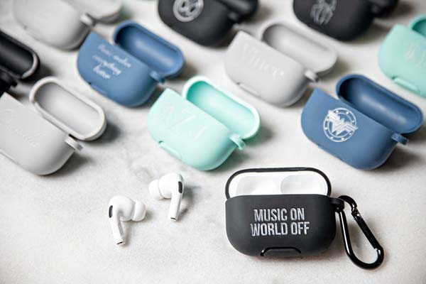 Handmade Personalized AirPods Pro Case with Carabiner