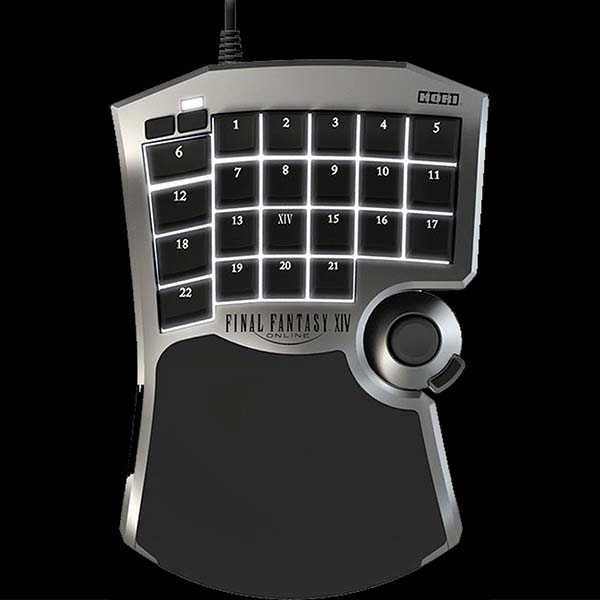 HORI Tactical Assault Commander F14 Gaming KeyPad for PC and PS4