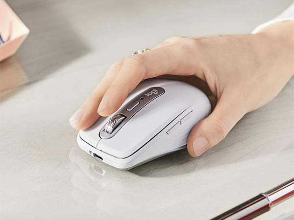 Logitech Anywhere 3 Wireless Mouse Fits Any Surface