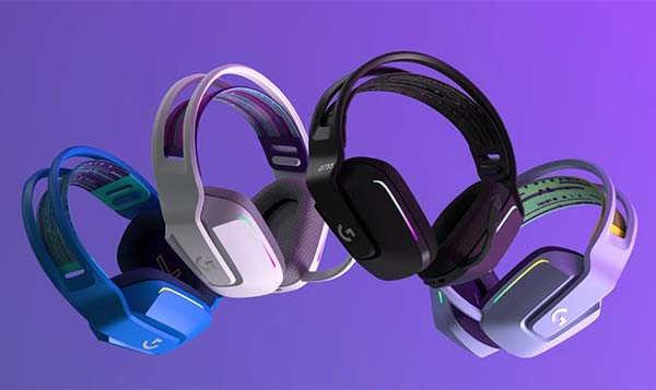 Logitech G733 Lightspeed Wireless Gaming Headset with Suspension Headband