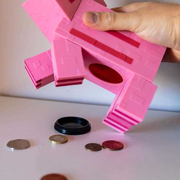 Minecraft Piggy Bank Looks Like Pig Mod