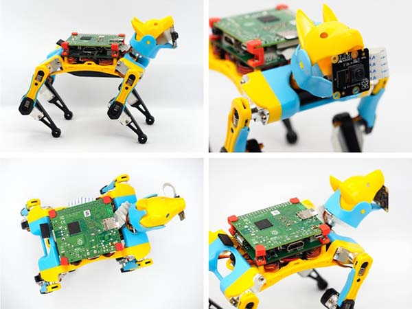 Petoi Bittle Mini Robot Dog Powered by Arduino