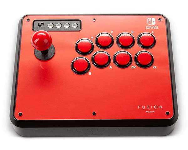 PowerA Fusion Wireless Bluetooth Arcade Stick for Nintendo Switch and Switch Lite