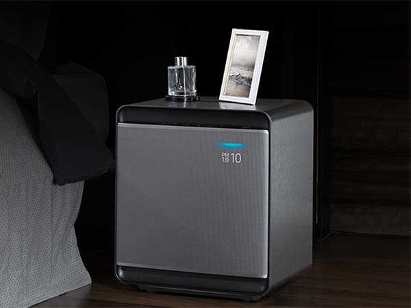 Samsung Cube Smart Air Purifier with 3-Layer True HEPA Filter