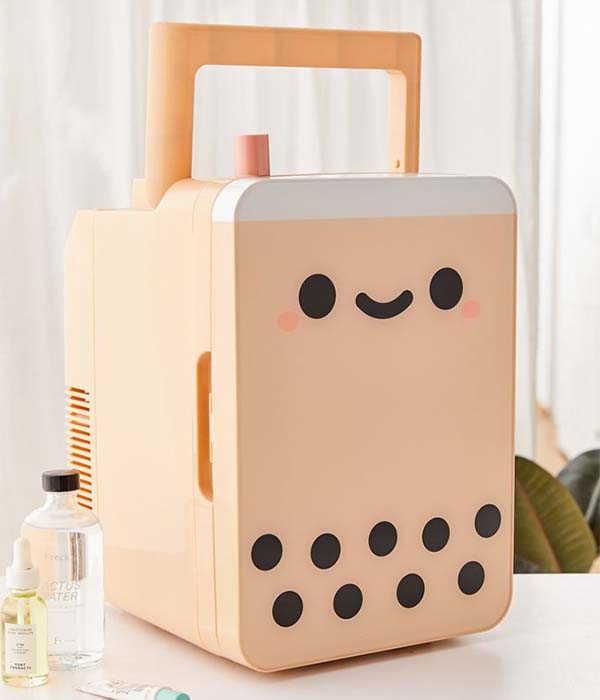Smoko Boba Tea Mini Skincare Fridge Limited Edition