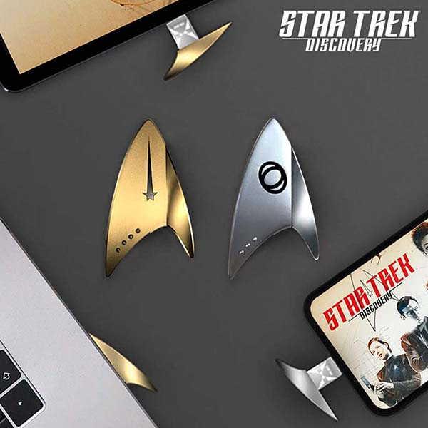 Star Trek Badge USB Flash Drive with OTG