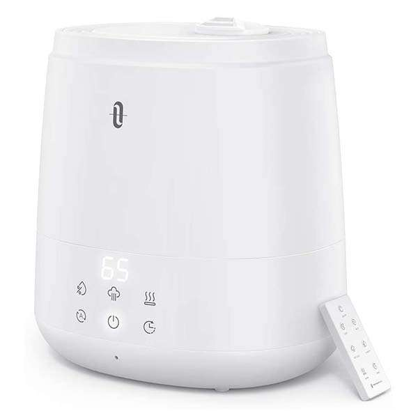 TaoTronics Air Humidifier with Warm and Cool Mist Modes