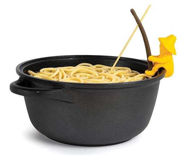 Al Dente Spaghetti Tester and  Steam Releaser by OTOTO Studio