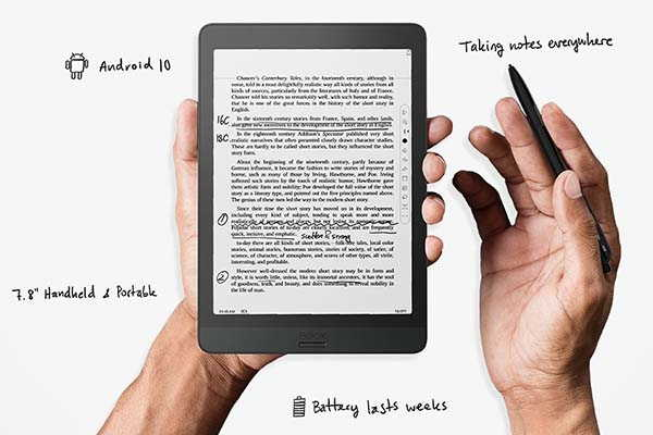 BOOX Nova3 Android E-Ink Tablet with USB OTG