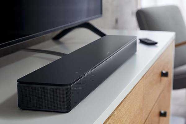 Bose Smart Soundbar 300 with Amazon Alexa and Google Assistant
