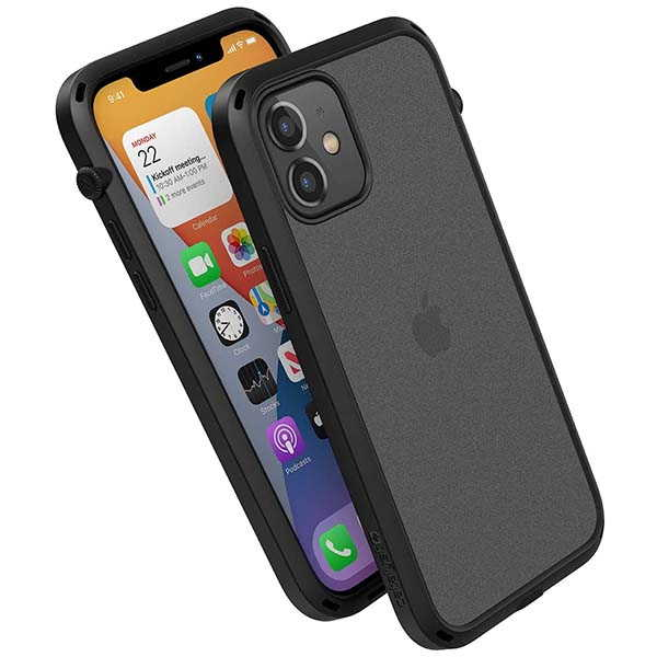Catalyst Influence Series iPhone 12 Case with Rotated Mute Switch