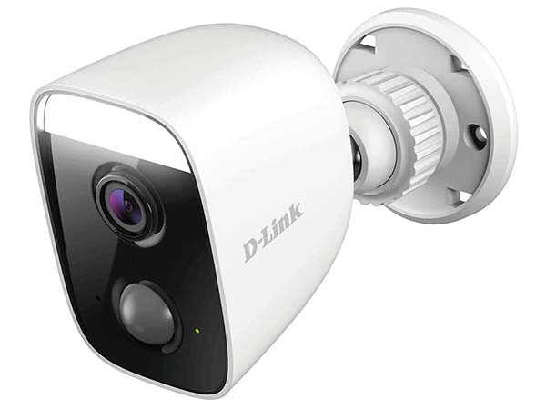 D-Link Outdoor Security Camera with Spotlight Supports Alexa