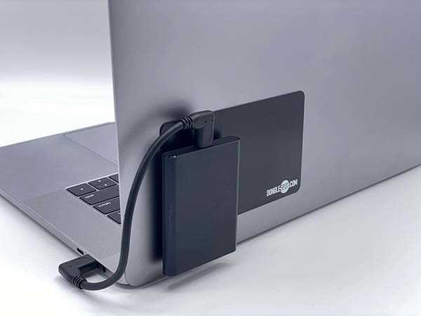 DongleSpot Magnetic Mounting System for Laptops