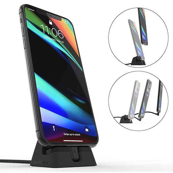 ElevationLab CordDock V2 iPhone Charging Dock with a Custom Lightning Cable