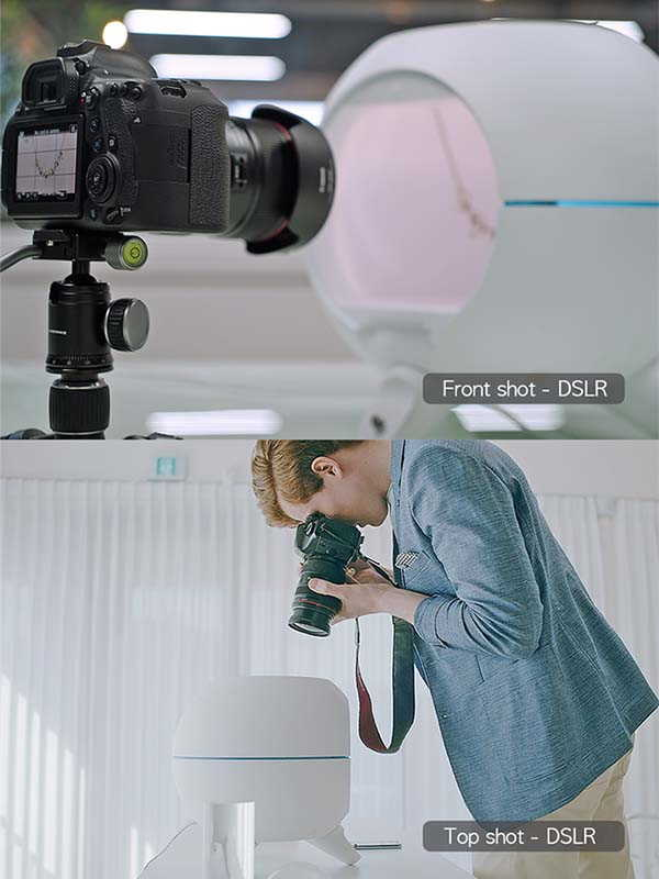 Foldio360 Smart Dome All-In-One Photo Studio with 360-Degree Turntable