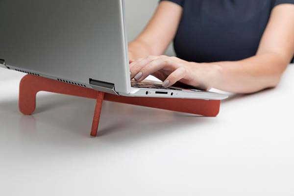 Handmade Minimal Wooden Laptop Stand