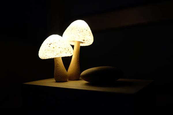 Handmade Mushroom LED Night Light