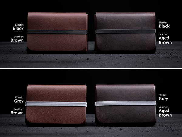 Handmade Personalized Minimal Leather Wallet with RFID Card