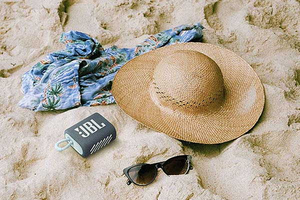 JBL Go 3 Portable Bluetooth Speaker with IP67 Waterproof Rating