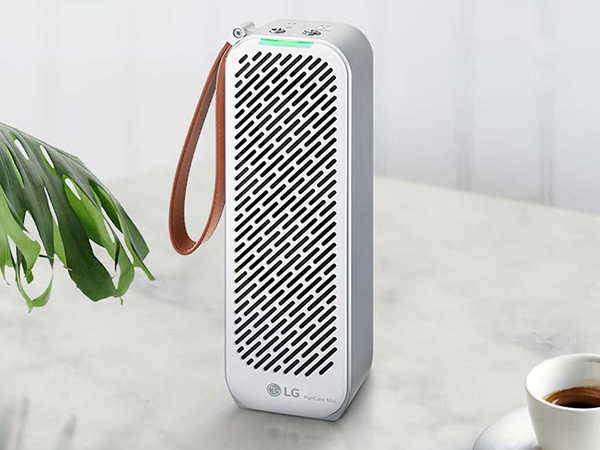 LG PuriCare Mini Portable Air Purifier with Bluetooth Connectivity
