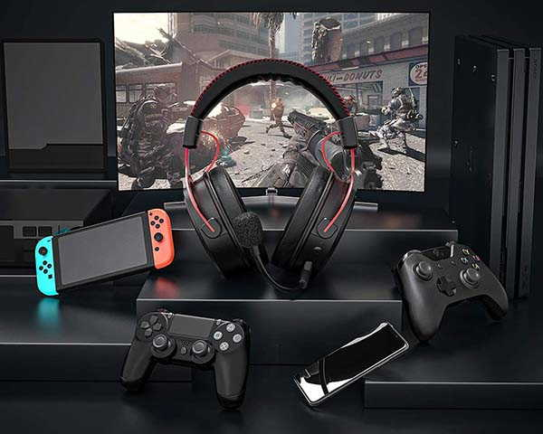 Mpow Air Pro Wireless Gaming Headset with 7.1 Surround Sound