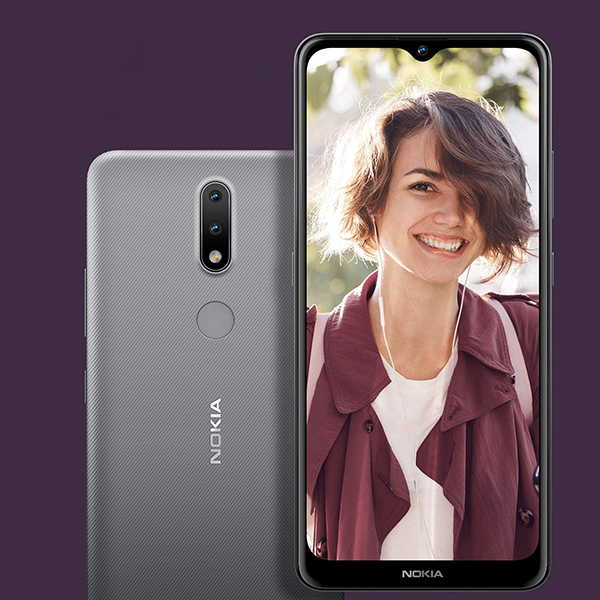 Nokia 2.4 Android Smartphone with 2-Day Battery Life