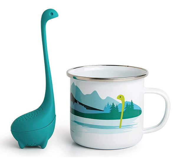 OTOTO Nessie Cup and Tea Infuser Set