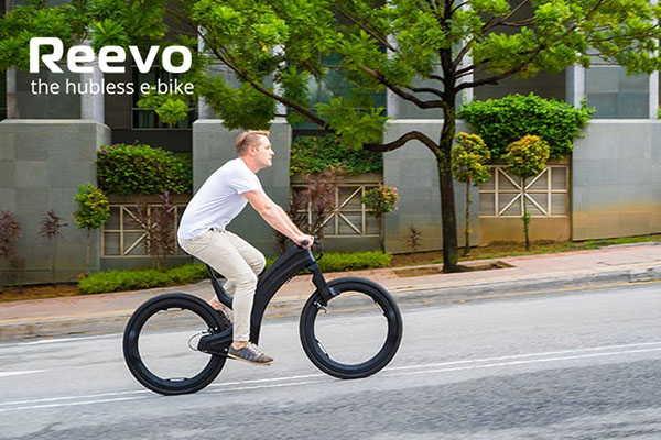 Reevo Electric Bike with Hubless Wheels