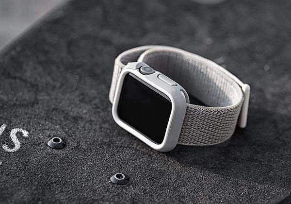 RhinoShield Bumper Apple Watch Case with Optional Rims