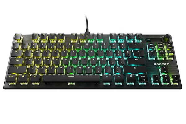 Roccat Vulcan TKL Pro Compact RGB Gaming Keyboard with Titan Optical Switches