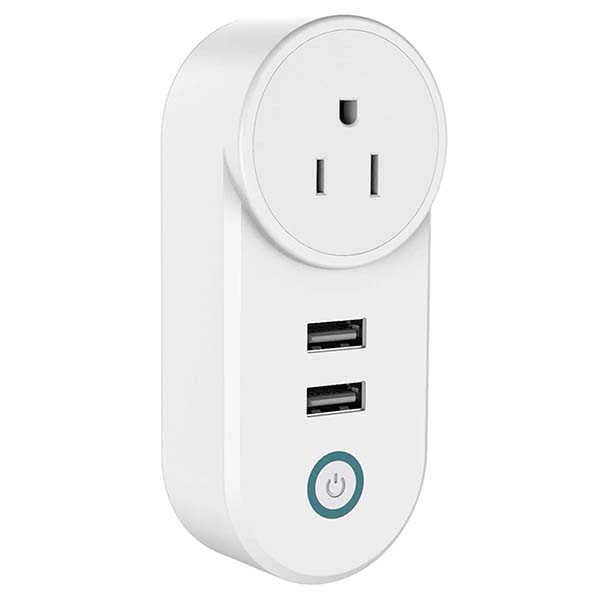 Slicoo Smart Plug with 2 USB Ports