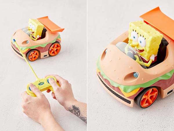 SpongeBob SquarePants RC Car Inspired by Krabby Patty