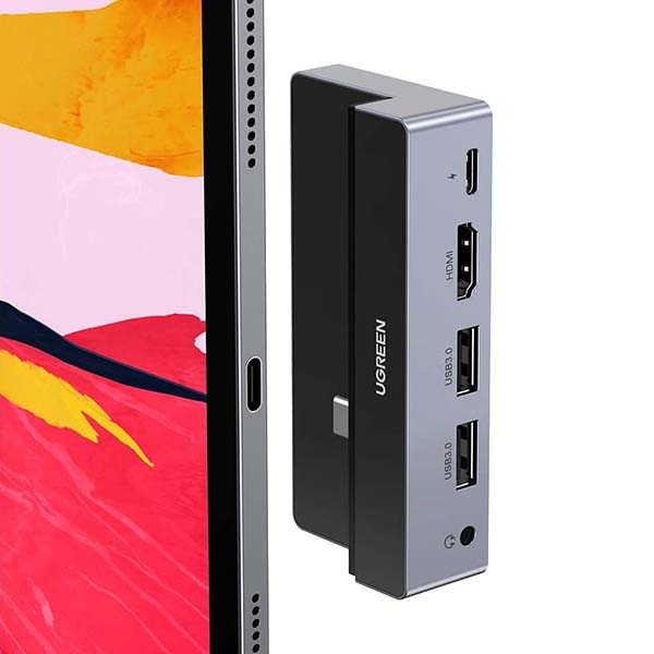 UGREEN iPad Pro USB-C Hub with 100W PD Charging