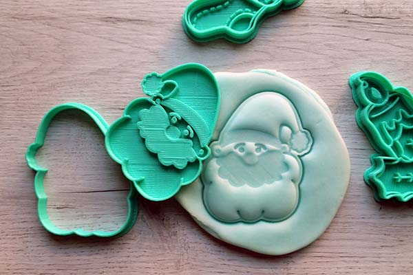 3D Printed Christmas Cookie Cutters for Upcoming Holiday Season