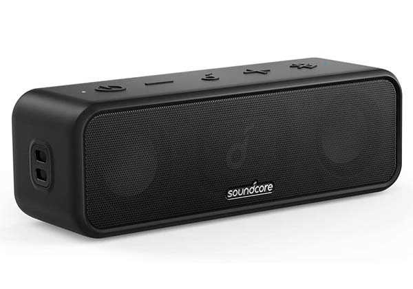 Anker Soundcore 3 Portable Waterproof Bluetooth Speaker with Titanium Diaphragm Drivers