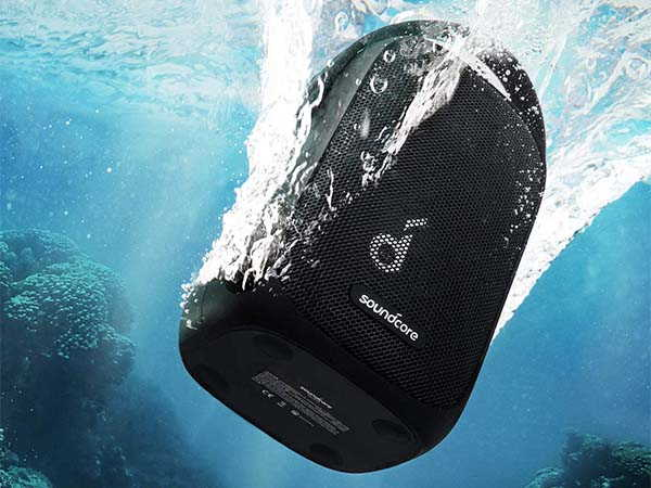 Anker Soundcore Trance Go Waterproof Outdoor Bluetooth Speaker with BassUp Technology