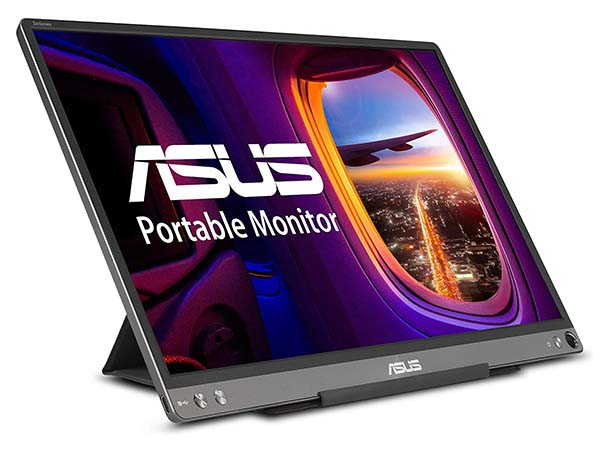ASUS ZenScreen MB16AC Portable Monitor with Lite Smart Case