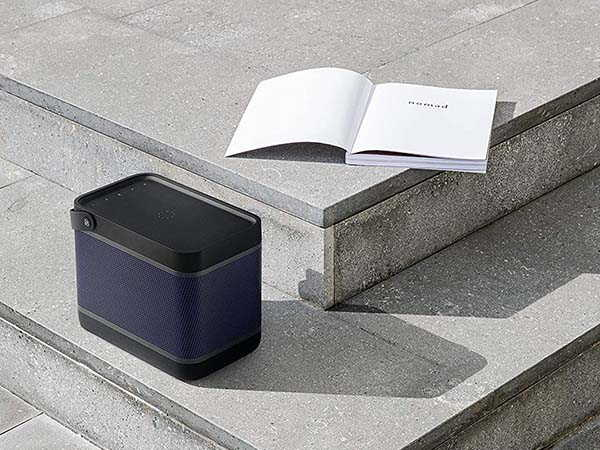 Bang & Olufsen Beolit 20 Portable Bluetooth Speaker with Wireless Charger