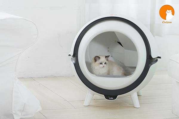 Catson Automatic Cat Litter Box with UV Sanitizer