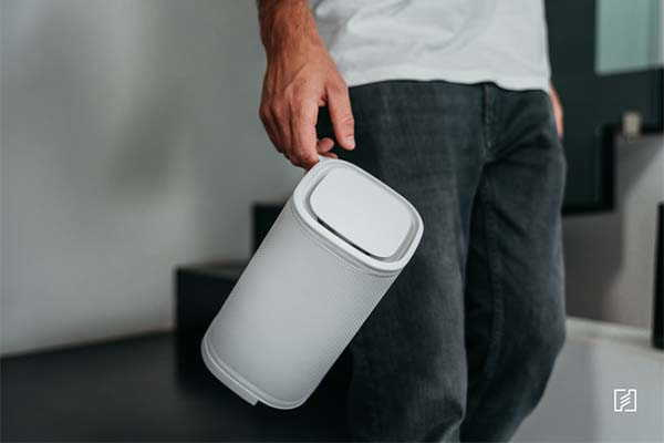 Eteria Personal Filterless Air Purifier with Monitoring Module Supports Alexa and Google Home