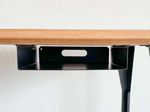 Handmade Under Desk Storage Shelf for Tablets, Smartphones and Books