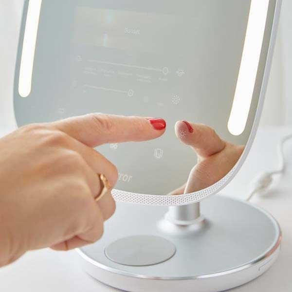 HiMirror Mini Premium X Smart Beauty Mirror with Amazon Alexa