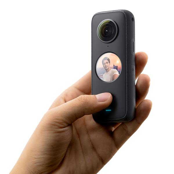 Insta360 ONE X2 Pocket 360 Camera with Dual- and Single-Lens Modes
