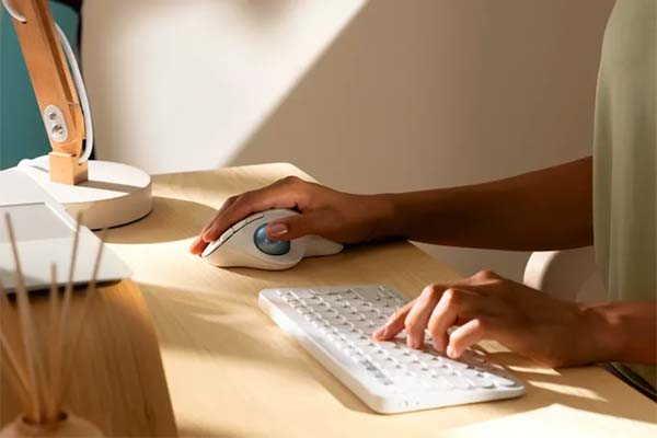 Logitech Ergo M575 Wireless Trackball Mouse for All Day Comfort