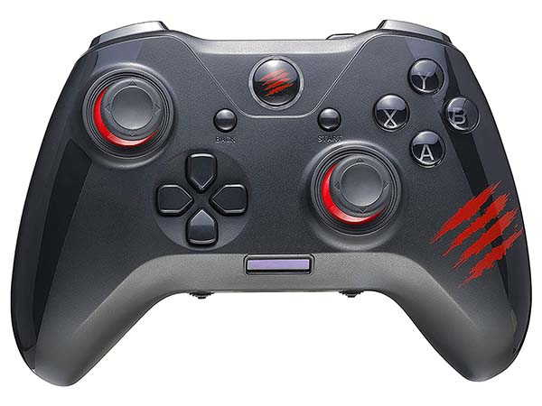 Mad Catz The Authentic C.A.T. 7 Wired Game Controller with 25 Buttons