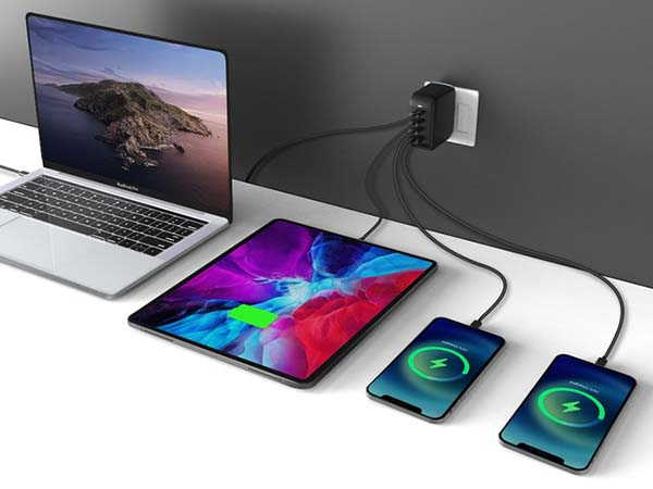 Mopoint 100W GaN USB-C Charger with 4 Ports