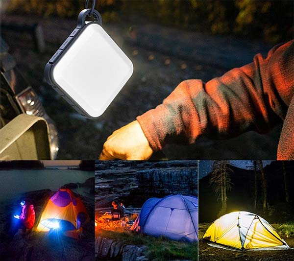 Smartless Waterproof Power Bank with LED Light
